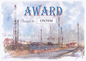 2015 OR0OST Award